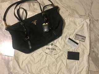 Authentic Prada Tote Bag (Black)