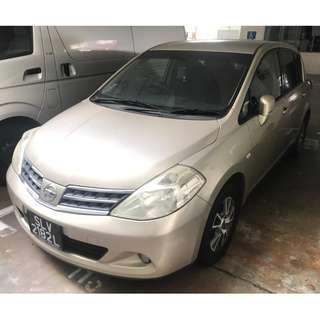 2009 Nissan Latio CVT 1.5L ABS D/AIRBAG 2WD 5DR Grab/Personal Use