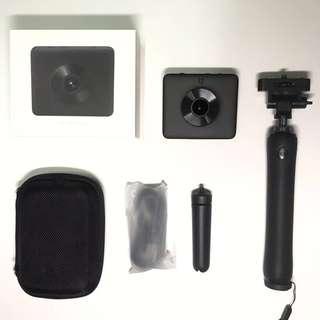小米全景相機連專用杆 360運動相機
