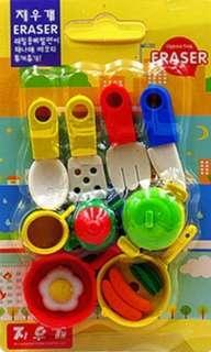 Kitchen Eraser Set