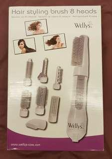 🚚 Wellys Hair Styling Brush 8-in-1