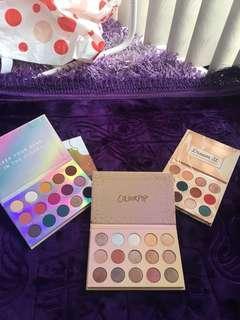 Colorpop palettes