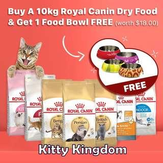 Promotion for Royal Canin Cat Food
