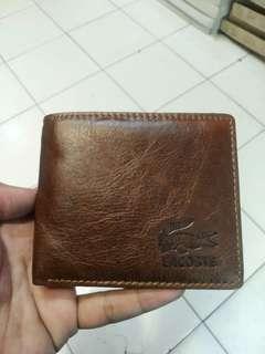 Dompet Kulit Lacoste