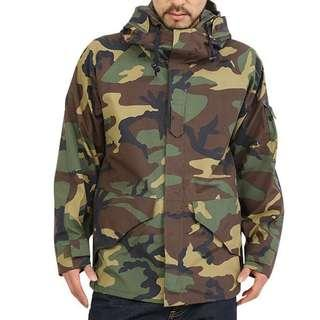 🚚 US ARMY ECWCS GEN1 Goretex防風雨迷彩外套