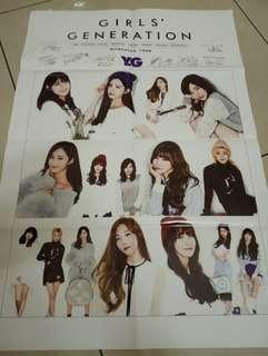 SNSD huge poster