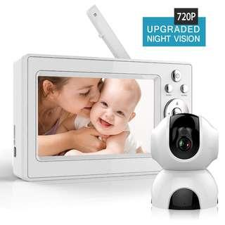 Bable 5inch 720p Baby Monitor - 2019 version