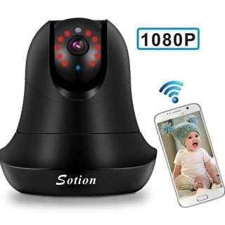 Sotion 1080 FHD WIFI Baby Monitor