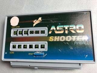 Vintage 80s Pinball Astro Shooter