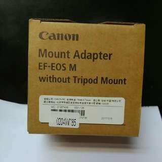 Canon Mount Adapter(EF-EOS M)without Tripod Mount