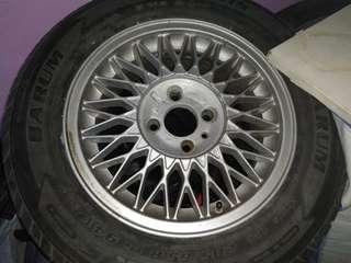 SAAB turbo  BBS ori Rims(light Weight)