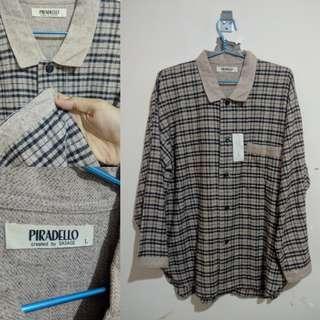 •Kemeja Flannel Piradello•
