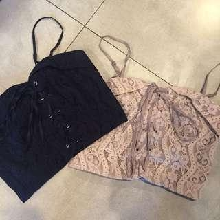 BN MDS Lace Corset Bralette