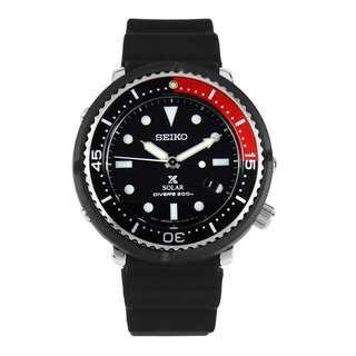 限量版 Seiko Prospex 200M Diver Solar STBR009 黑×紅的百事可樂彩色