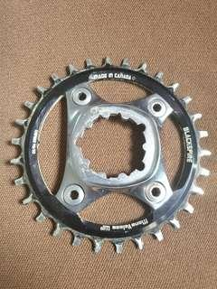 Xx1 spider with chainring