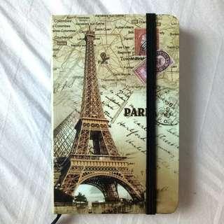 paris lined notebook/organiser