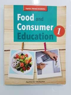 🚚 Food and Consumer Education Book 1