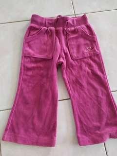 Poney Girls Purple Long Pants