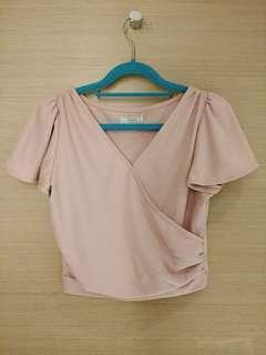 🌈全新💛平❤快走🐦Titty & Co. Japan 高弹性芭蕾舞公主䄂粉紅上衣