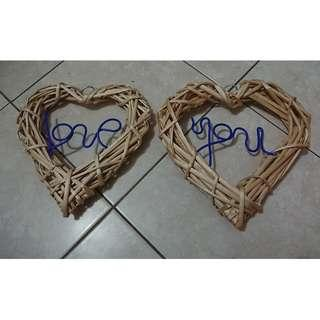 PW 用品:LOVE YOU 牌