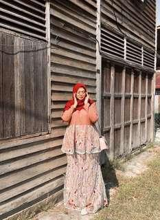 Ms Amalina Embroidered Kurung