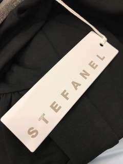 STEFANEL Oversize Sweatshirt in Black