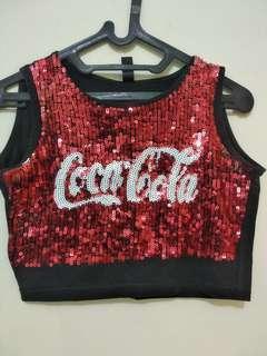 Crop Top coca cola