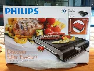 🚚 *BNIB* Philips Table Grill HD4419