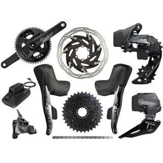 🚚 SRAM Force eTap AXS Road / Disc HRD / Flat Mount / Full Groupset 2x12