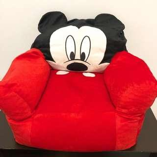 New Disney Toddler/Kids Mickey Mouse bean bag chair