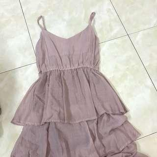 2 for rm50-Sweet Looking Dull Pink Dress