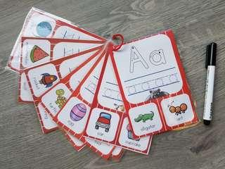 🚚 Tracing Alphabet A to Z (Basic Set)