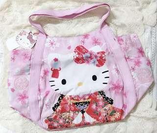 全新❤️(大款)kitty 托特包 媽媽包 外出包 大容量 三麗鷗 凱蒂貓