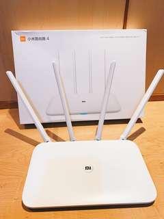 小米 小米路由器4 AC雙頻 2.4G+5G雙頻 分享器