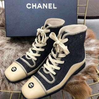 🚚 Chanel帆布鞋