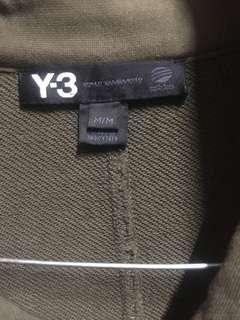 Jacket Y3 Yohi Yamamoto Original.