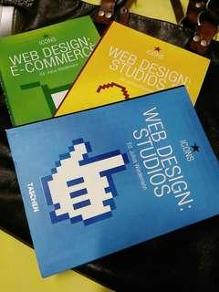 🚚 WEB DESIGN系列英文原文書三冊