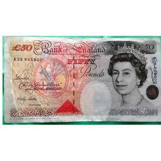 Fifty Pound note in good condition