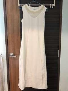 White (Ivory) Long Dress