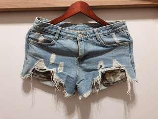 🚚 破破牛仔褲💚帥帥的迷彩口袋