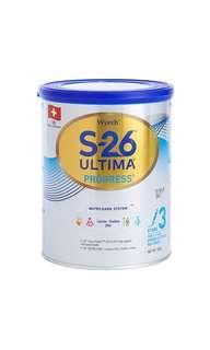 惠氏 S26 s-26 ultima 3號奶粉  [清貨]