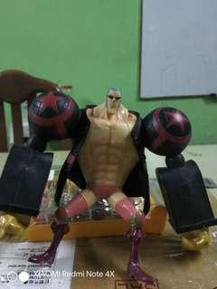 *Franky Film Z Version Figure One Piece Bandai Styling*