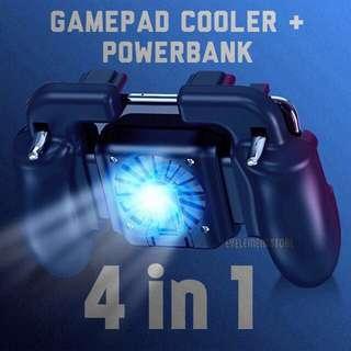 Gamepad powerbank + cooler