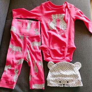 Brand new H&M Baby Girl all in one