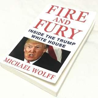 Fire & Fury - Inside the Trump Whitehouse by Michael Wolff