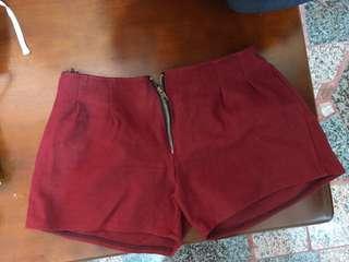 🚚 酒紅色短褲❤️❤️❤️