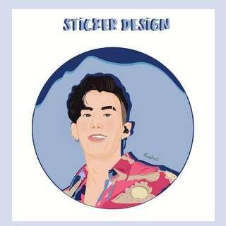 Sticker Ilustrations