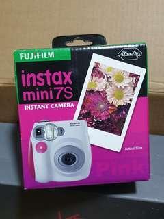 🚚 Fujifilm Instax Mini 7s Instant Camera Pink