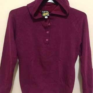 Maroon Sweater Long Sleeve