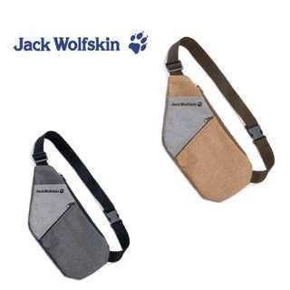 全新-Jack Wolfskin飛狼Yupple雙色拼接兩用腰包/如圖右上-便宜賣